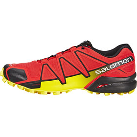 Salomon M's Speedcross 4 Shoes Radiant Red/Black/Corona Yellow